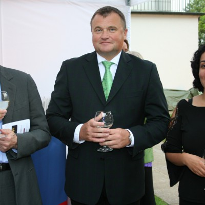 Deutsch-Russisches Sommerfest im Haus des Hamburger Senats